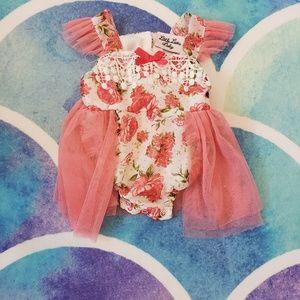30% Off Bundles Little Lass Floral Pink Dress